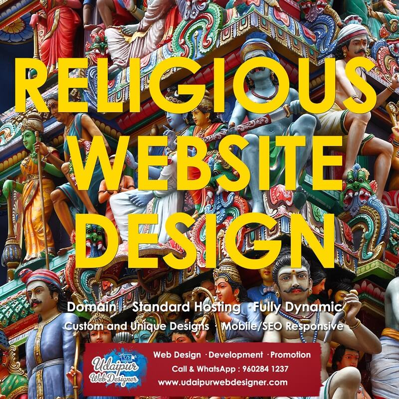 Religious Website Design