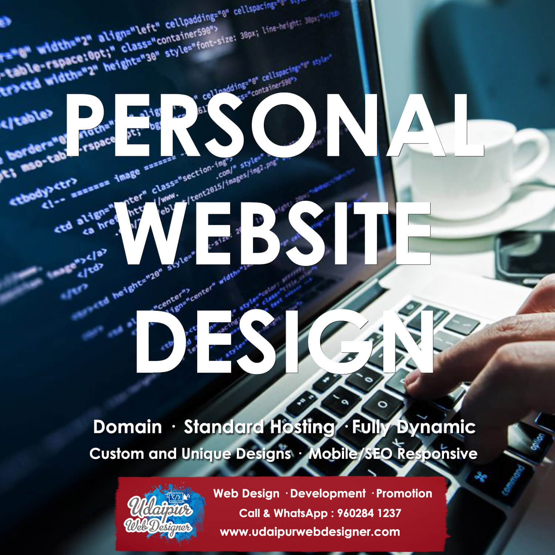 Personal Website Design Company