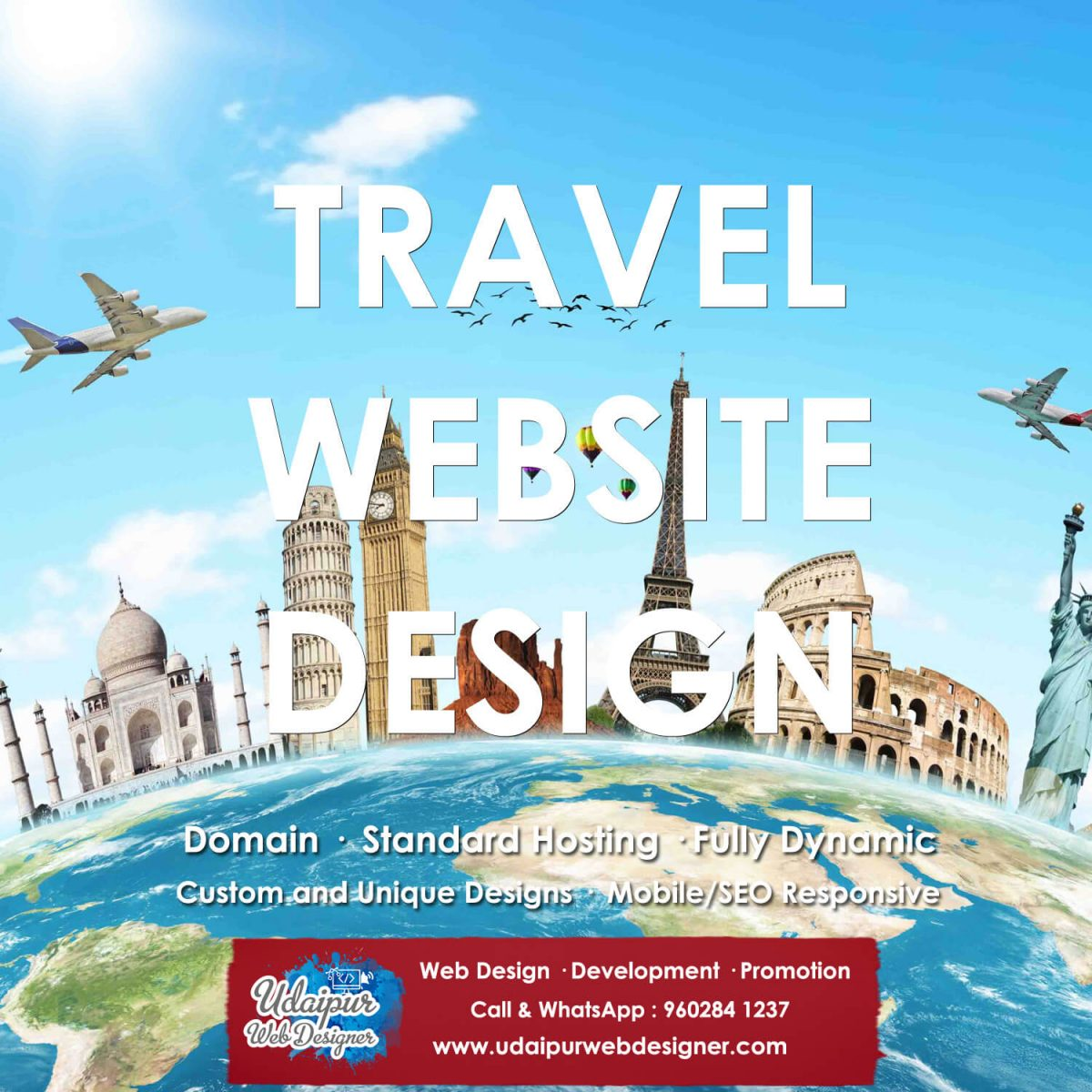 Tour Travel Website Design India