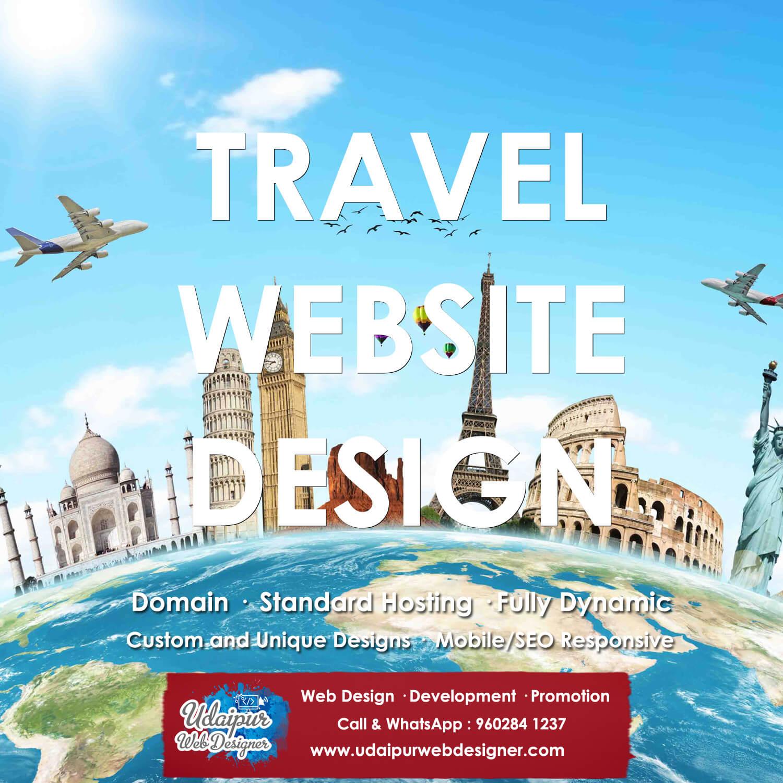 Tour Travel Website Design India