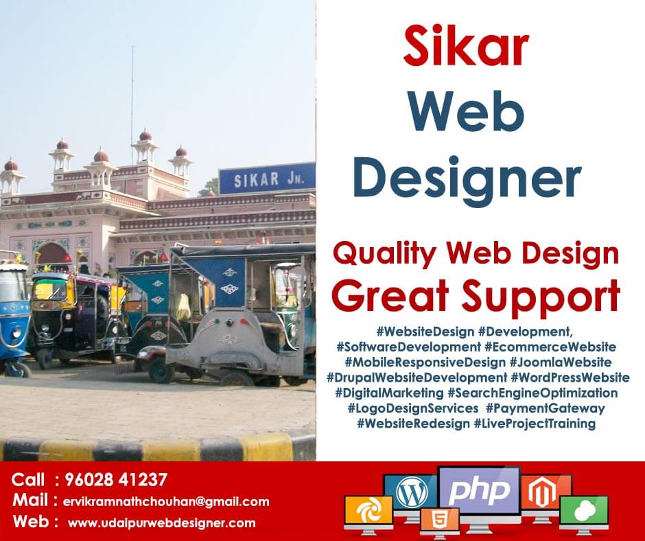 Web Designer Sikar