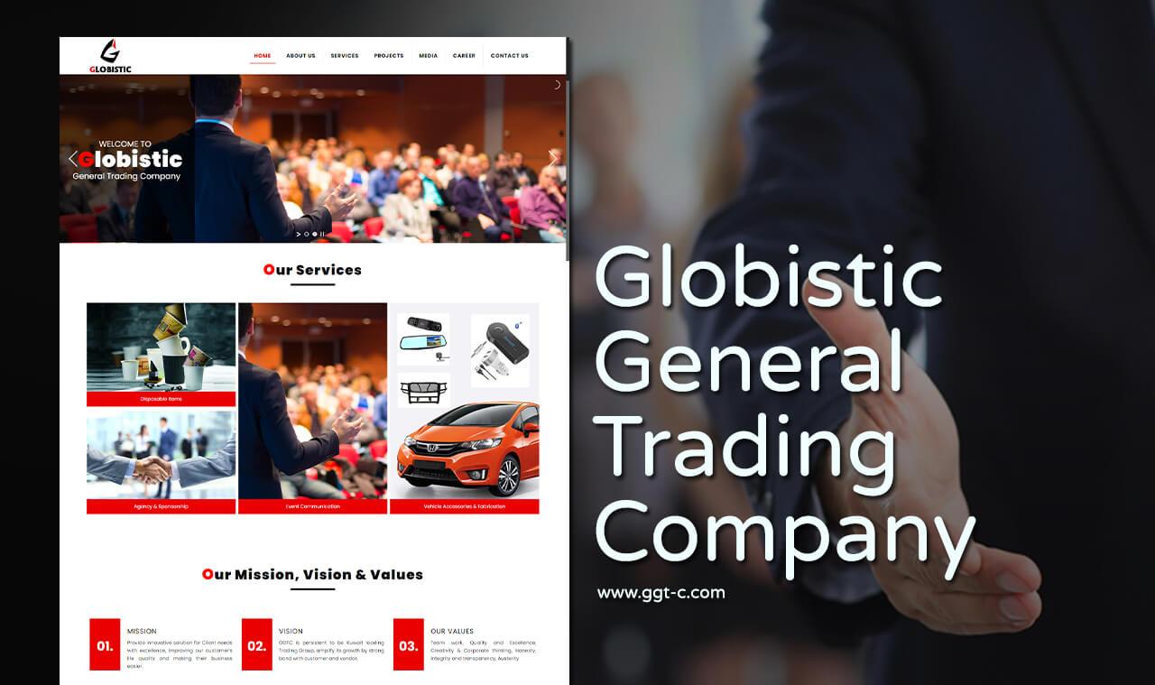 general trading company web design