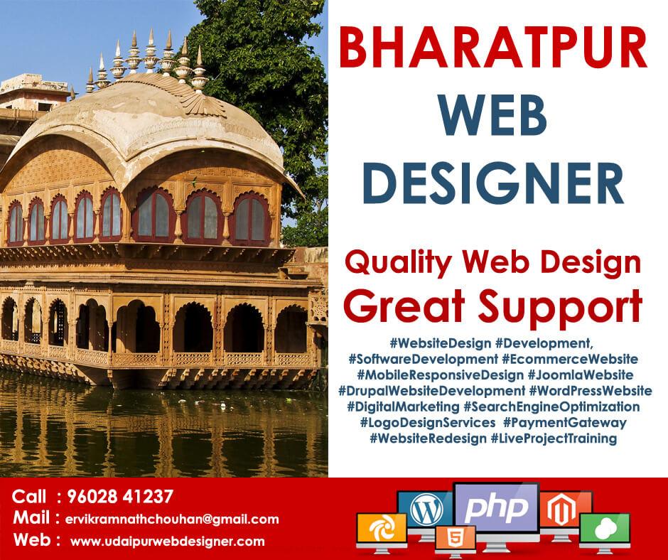 Web Designer Bharatpur - Rajasthan