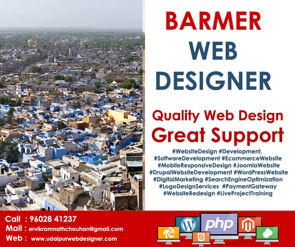 Web Designer Barmer