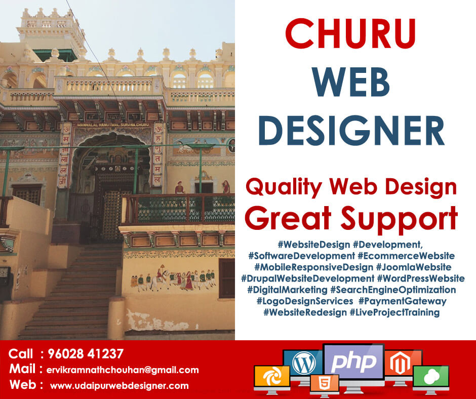 Web Designer Churu