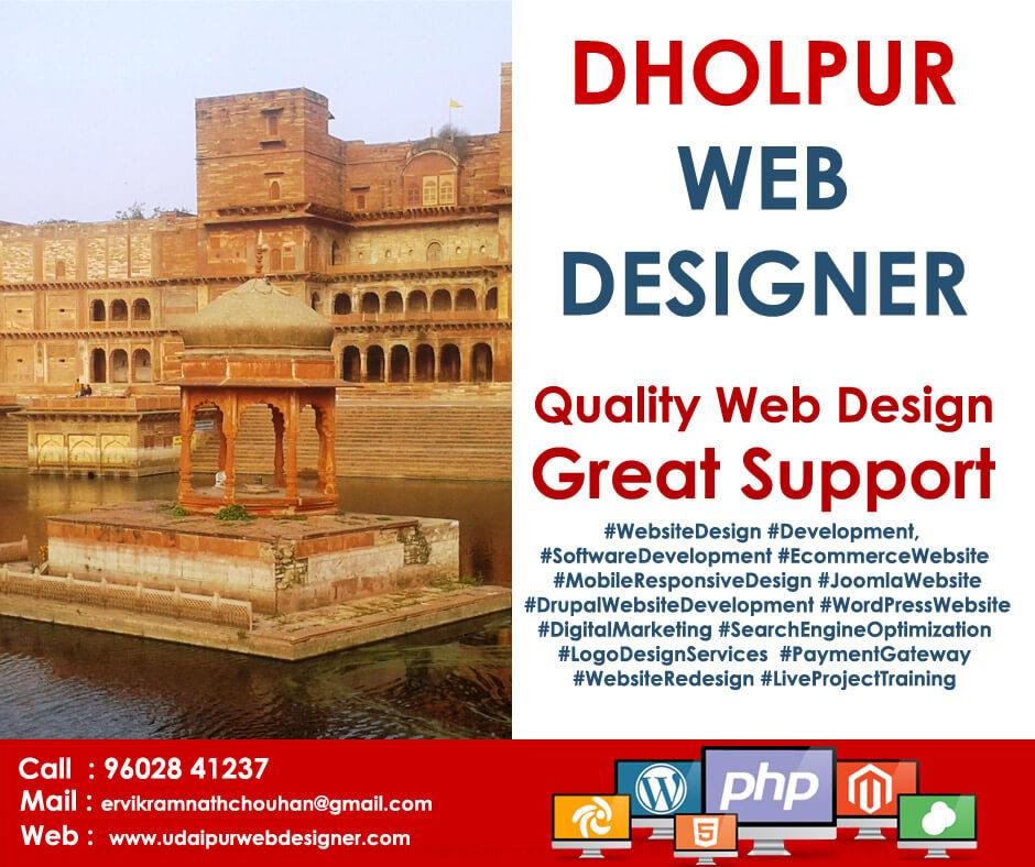 Web Designer Dholpur