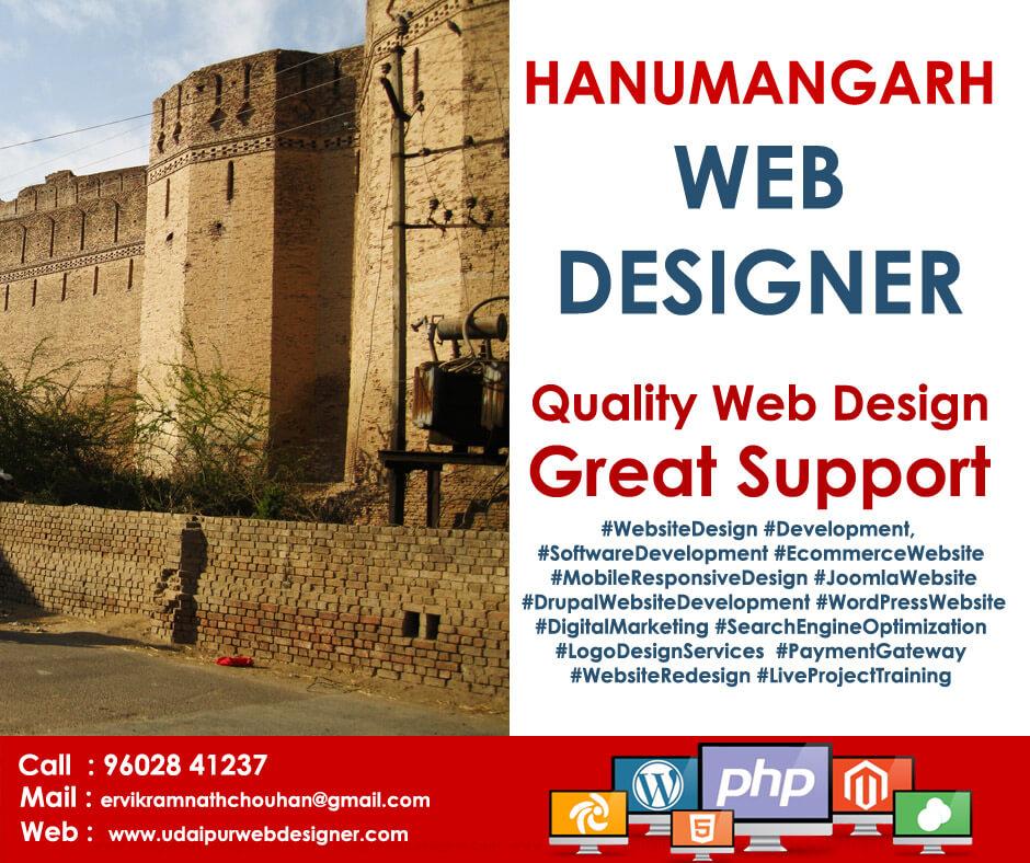Web Designer Hanumangarh