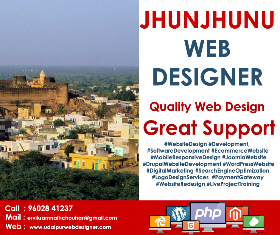 Web Designer in Jhunjhunu