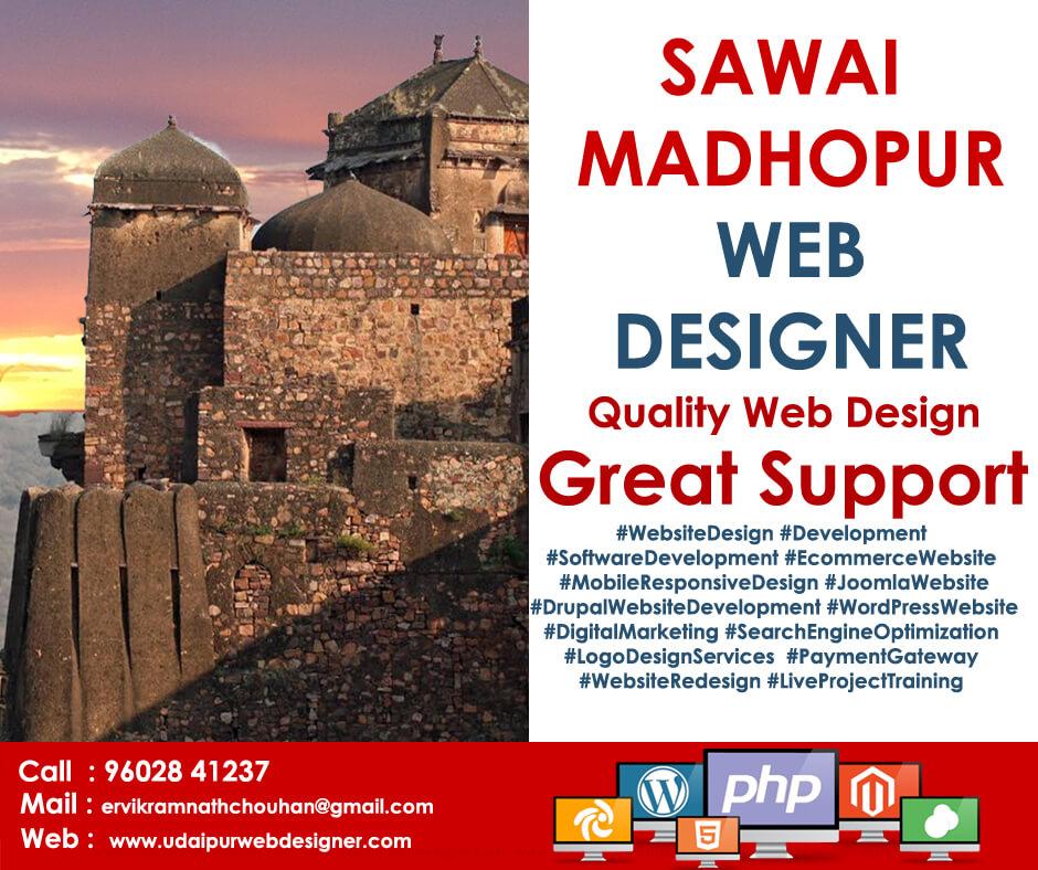 Web Designer Sawai Madhour