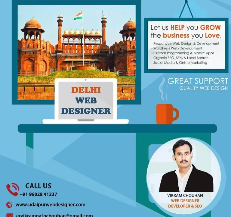 Web Designer in Delhi