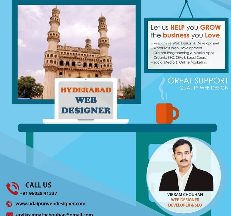 Best Web Designer in Hyderabad-India