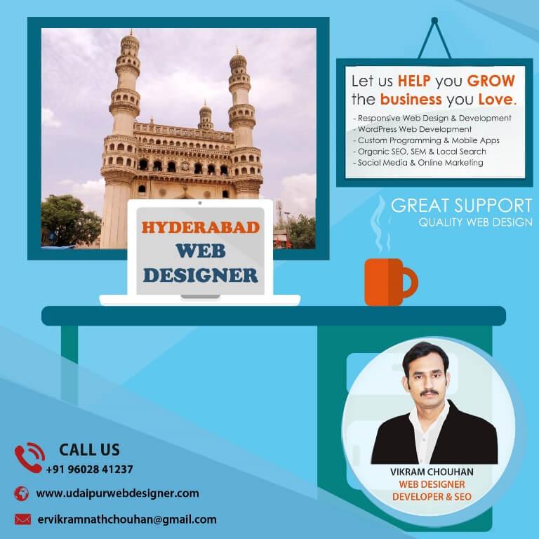 Best Web Designer in Hyderabad-India