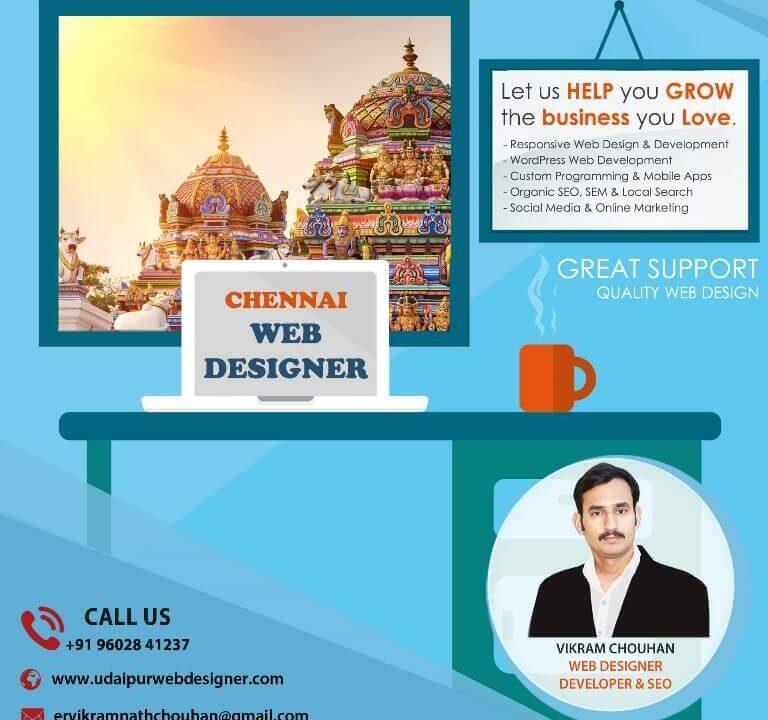 Web Designer in Chennai