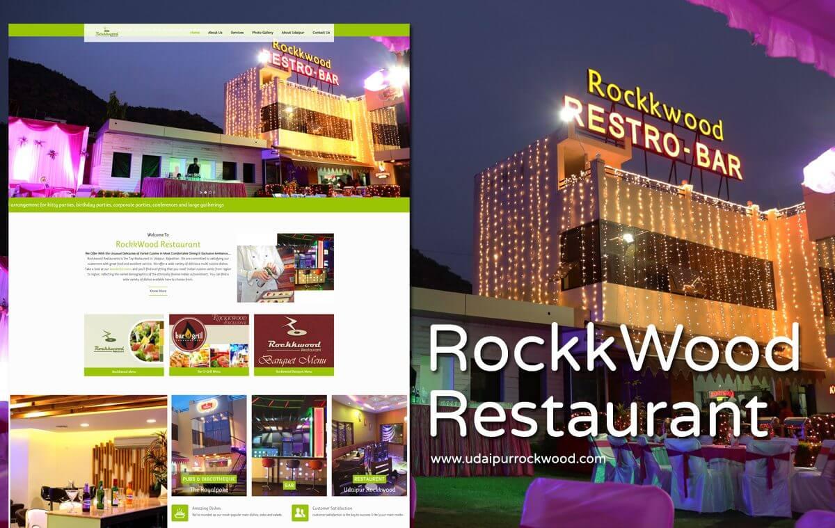 Restaurant Website Design Udaipur