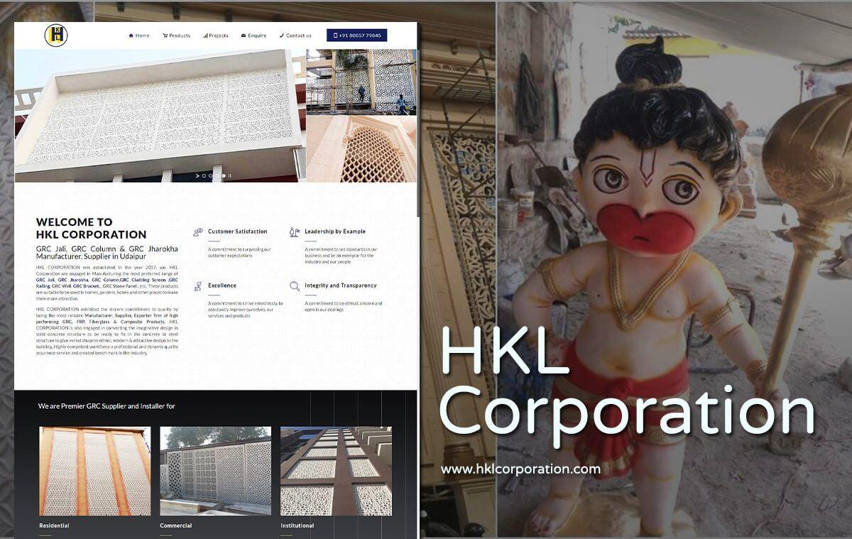 grc product website designer