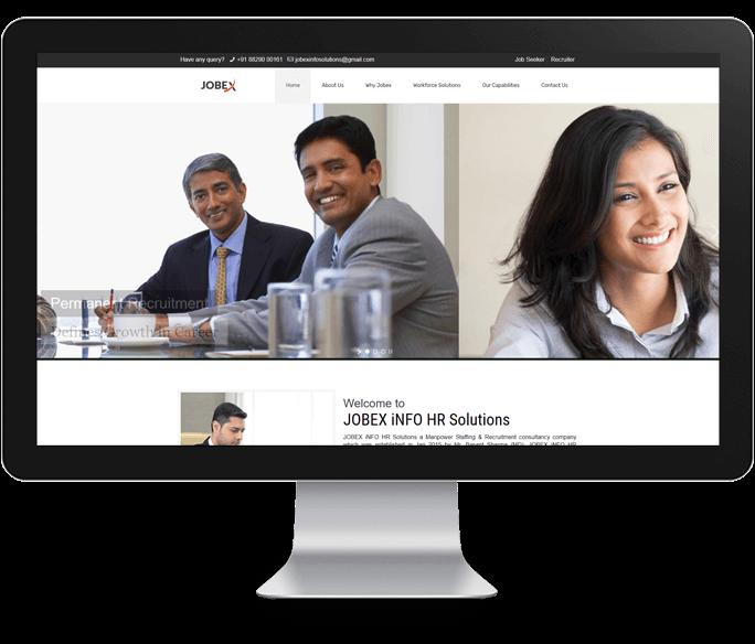 hr solutions website design