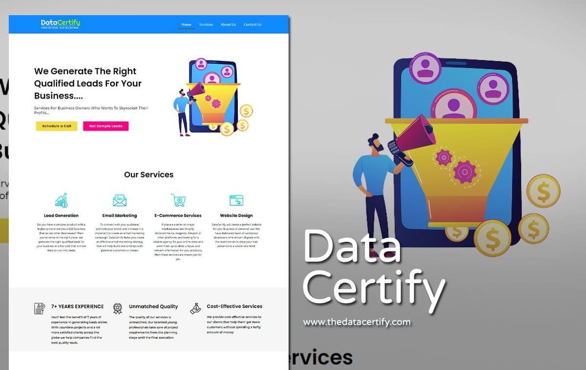 kpo company website design