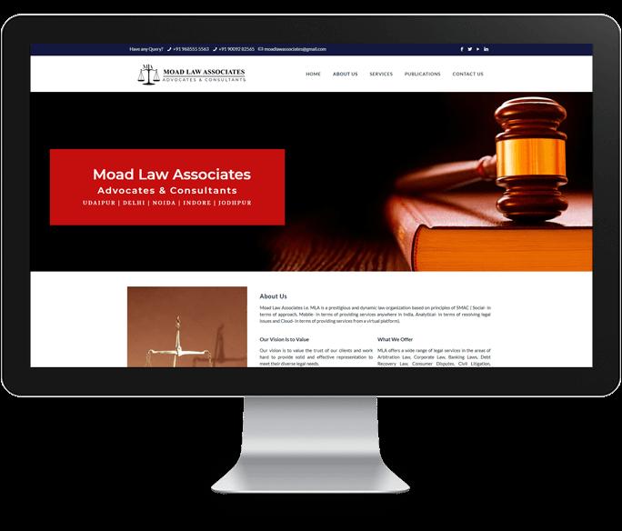 law firm website designer