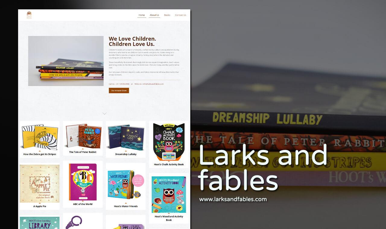 publishing house website designer