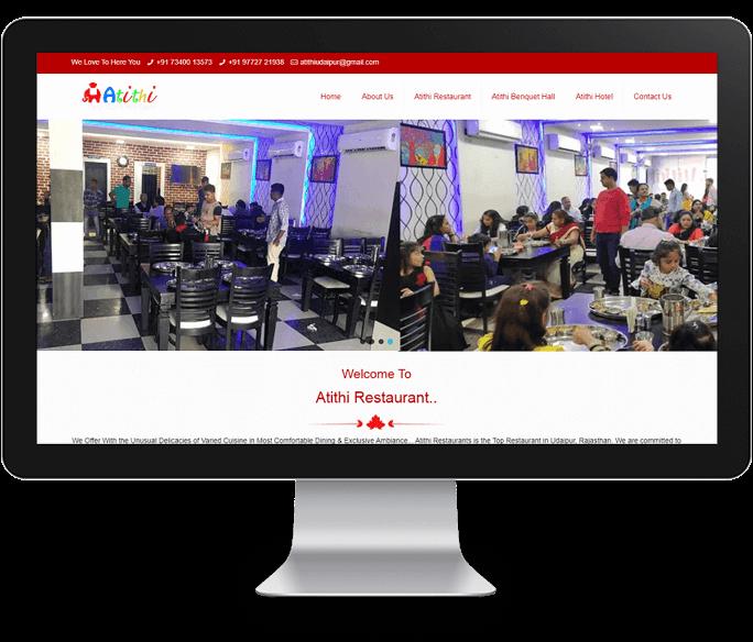 restaurant web designer