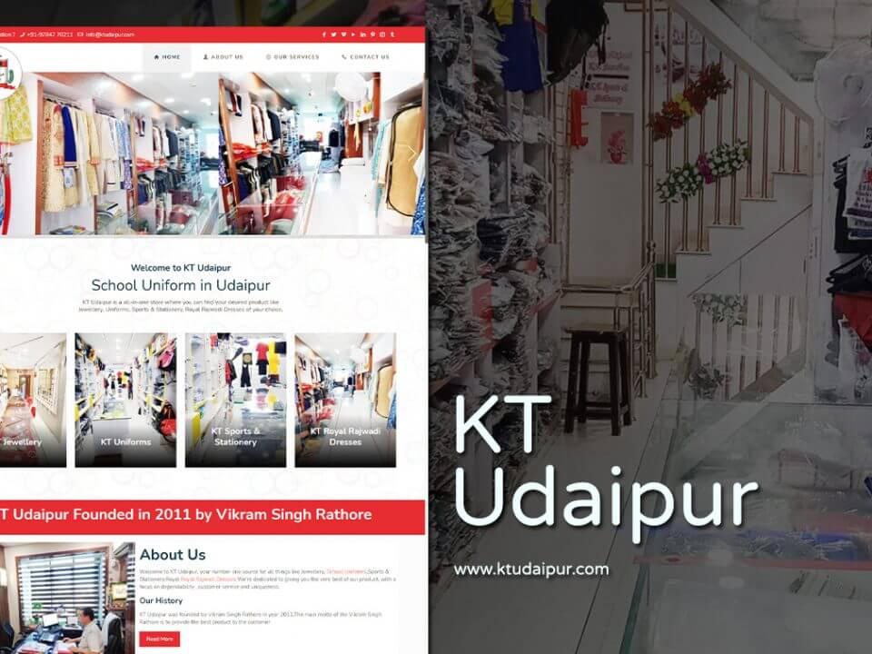 uniform wholesaler website design