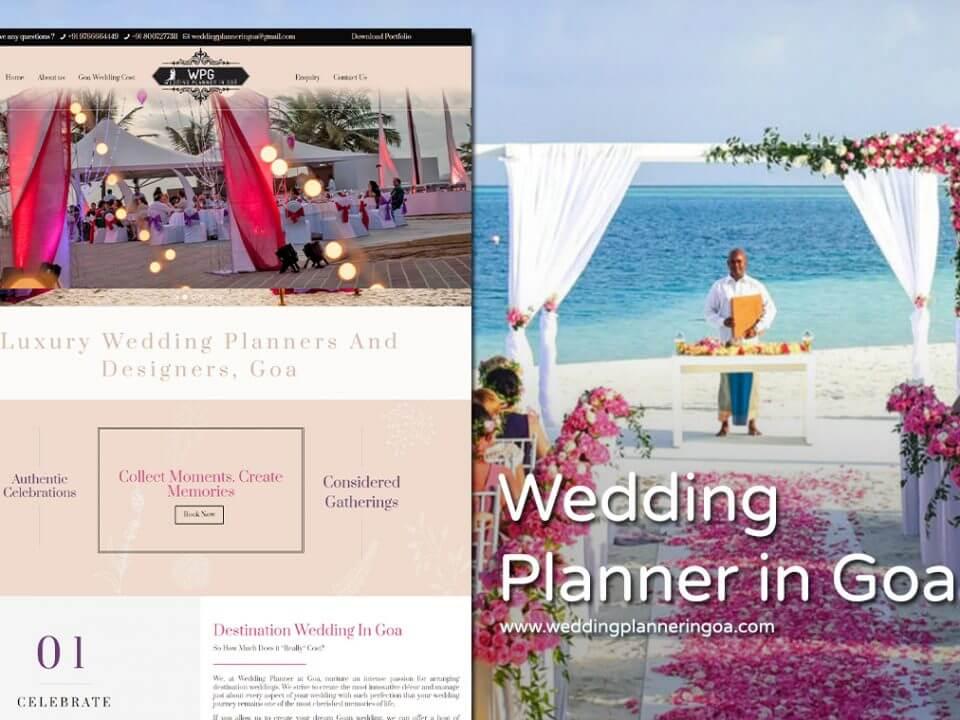 wedding website designer