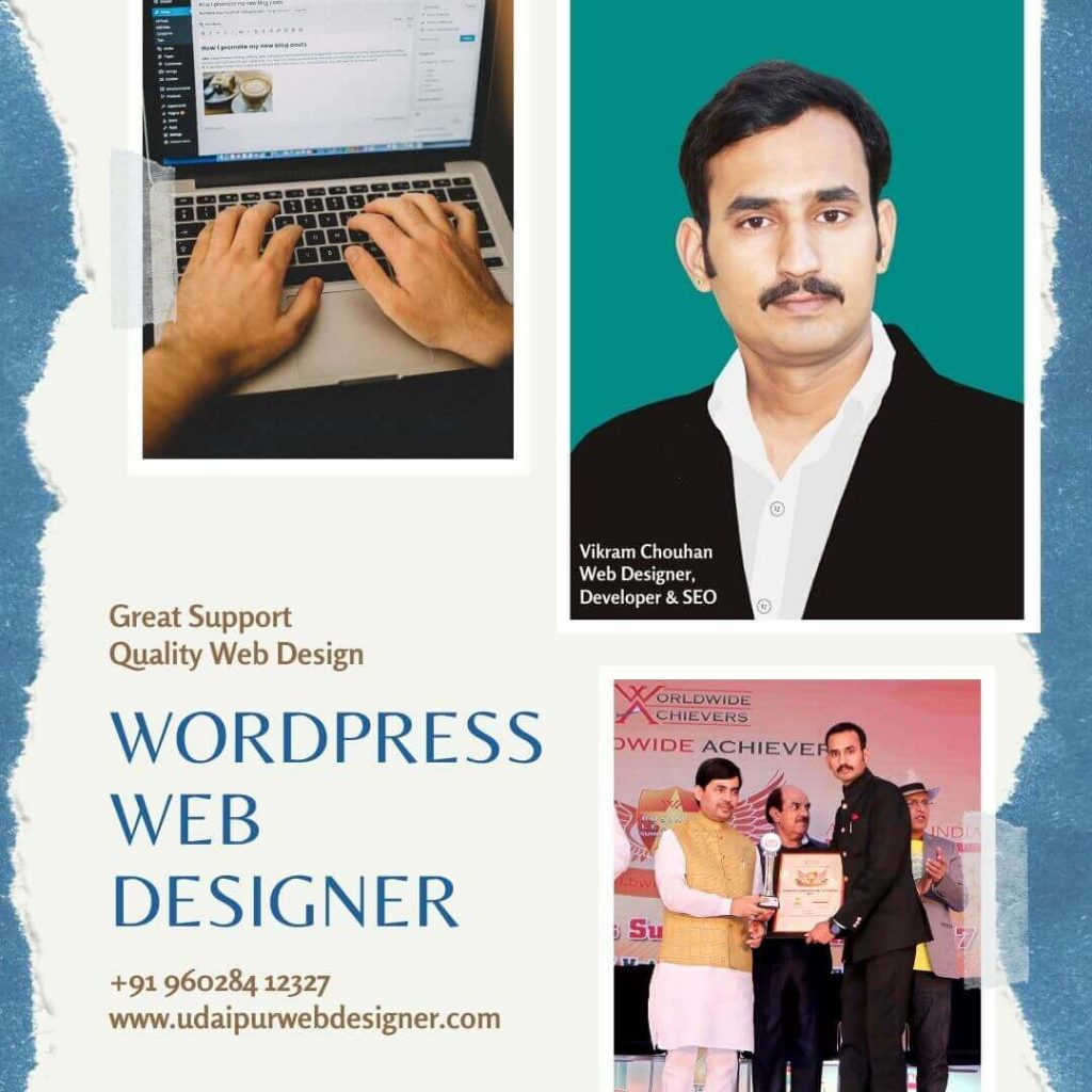 wordpress web developer in udaipur