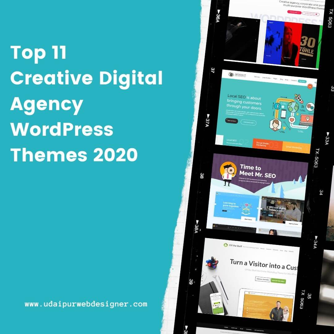Creative Digital Agency WordPress Themes