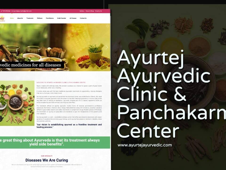 Ayurvedic Clinic Website Designers