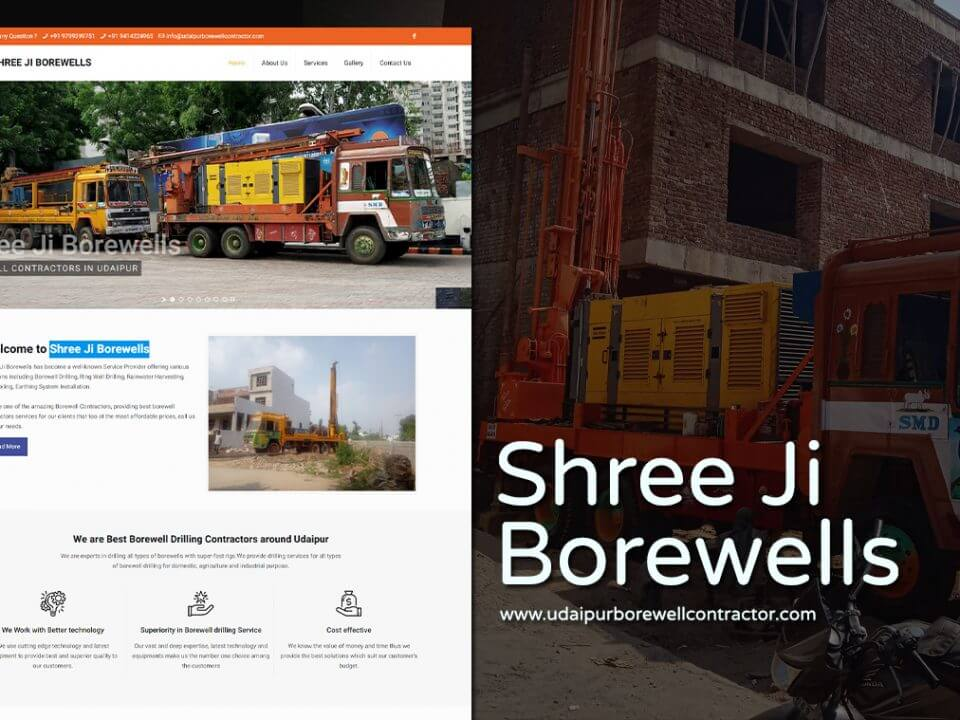 Borewells Services Website Designers