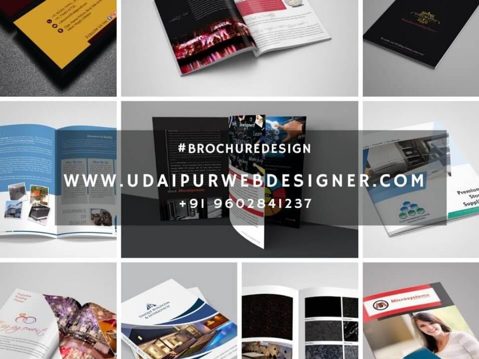 Brochure Designer in Udaipur, rajasthan