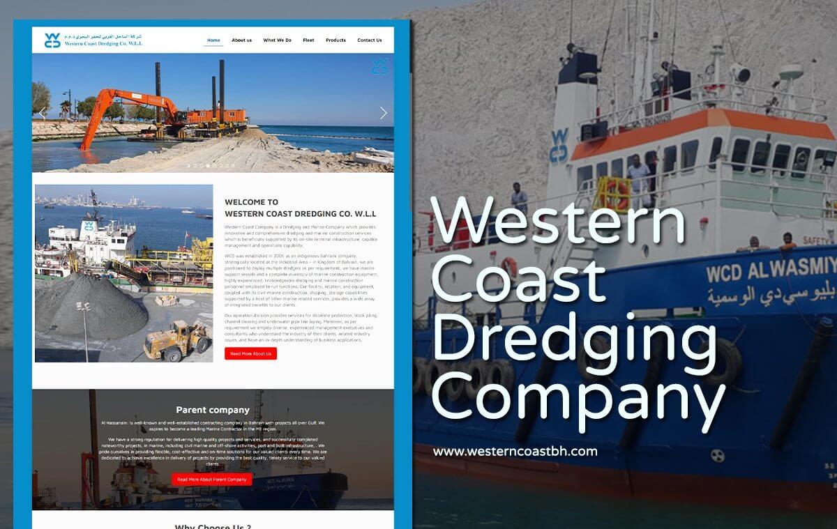 Dredging-and-Marine-Services-website-designer