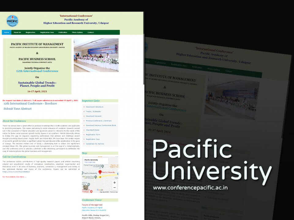 Education and Research University Website Designers