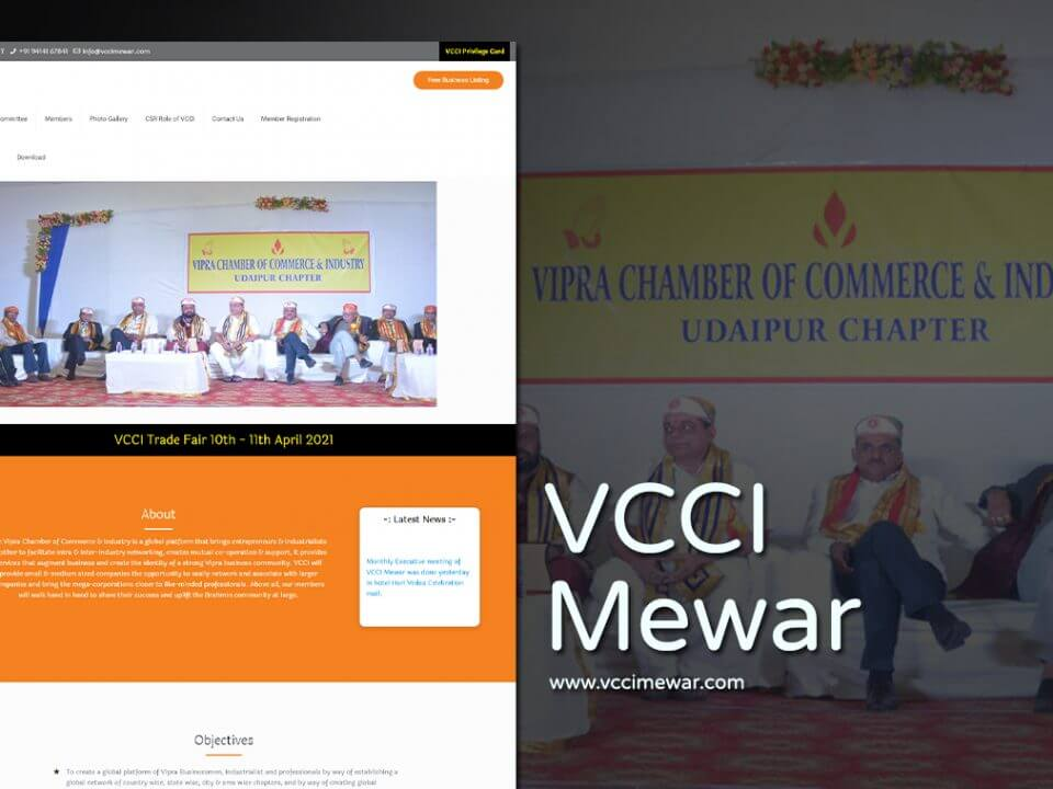 Entrepreneurs Industrialists Services Website Designers