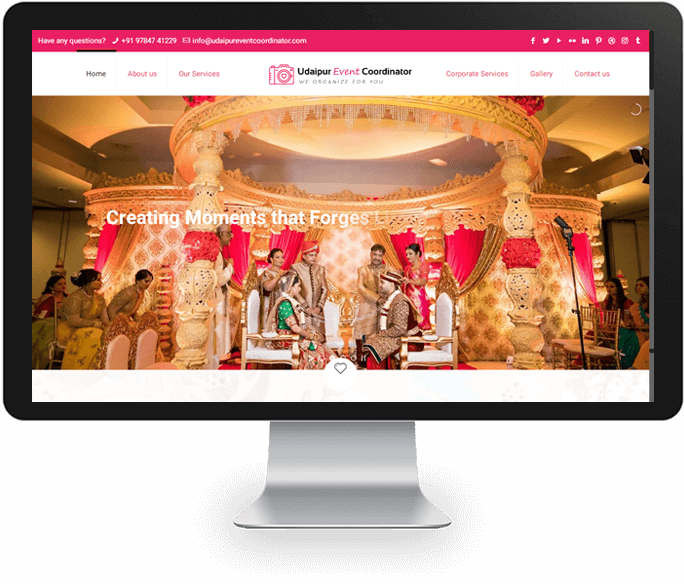 Event Planner Website Designer