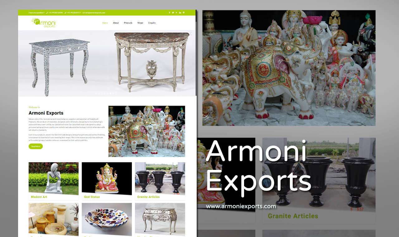 Handicraft Products Website Designers
