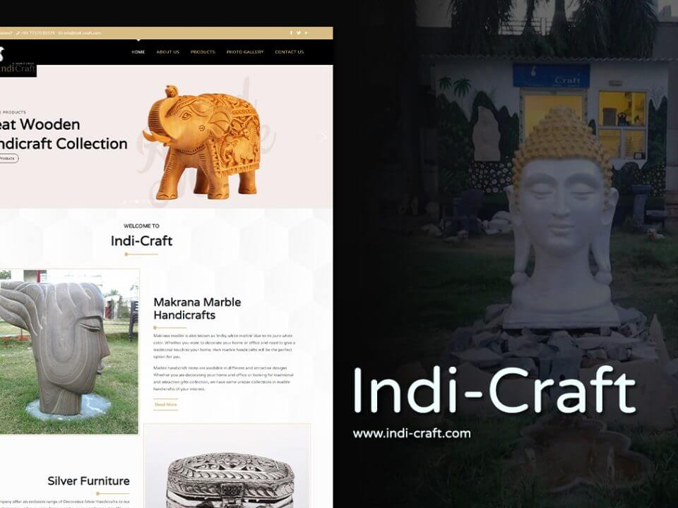 Handicrafts Manufacturers Website Designers