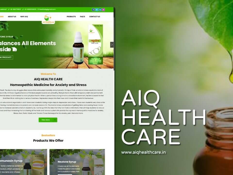 Homeopathic Clinic Website Designer 1