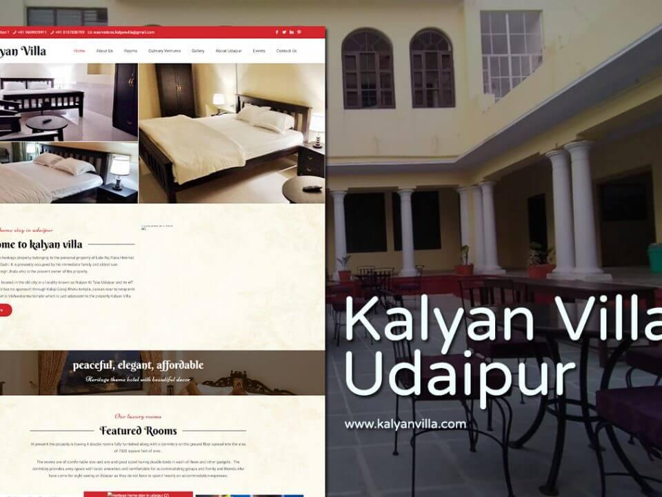 Hritage Hotels webstie deisgner