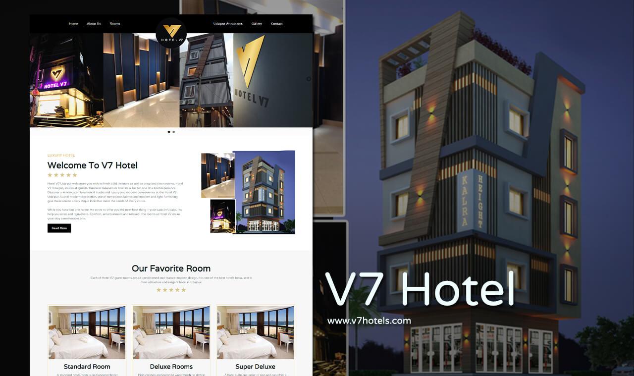 Luxury and Modern Hotel Website Designers