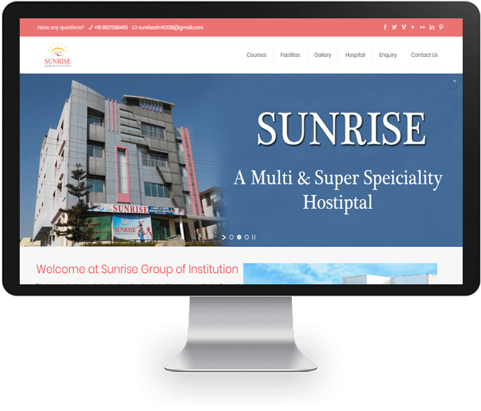 Medical Institute Website Designer