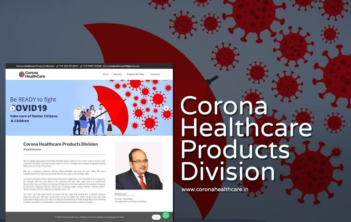 Medical and Health Solutions Website Designers