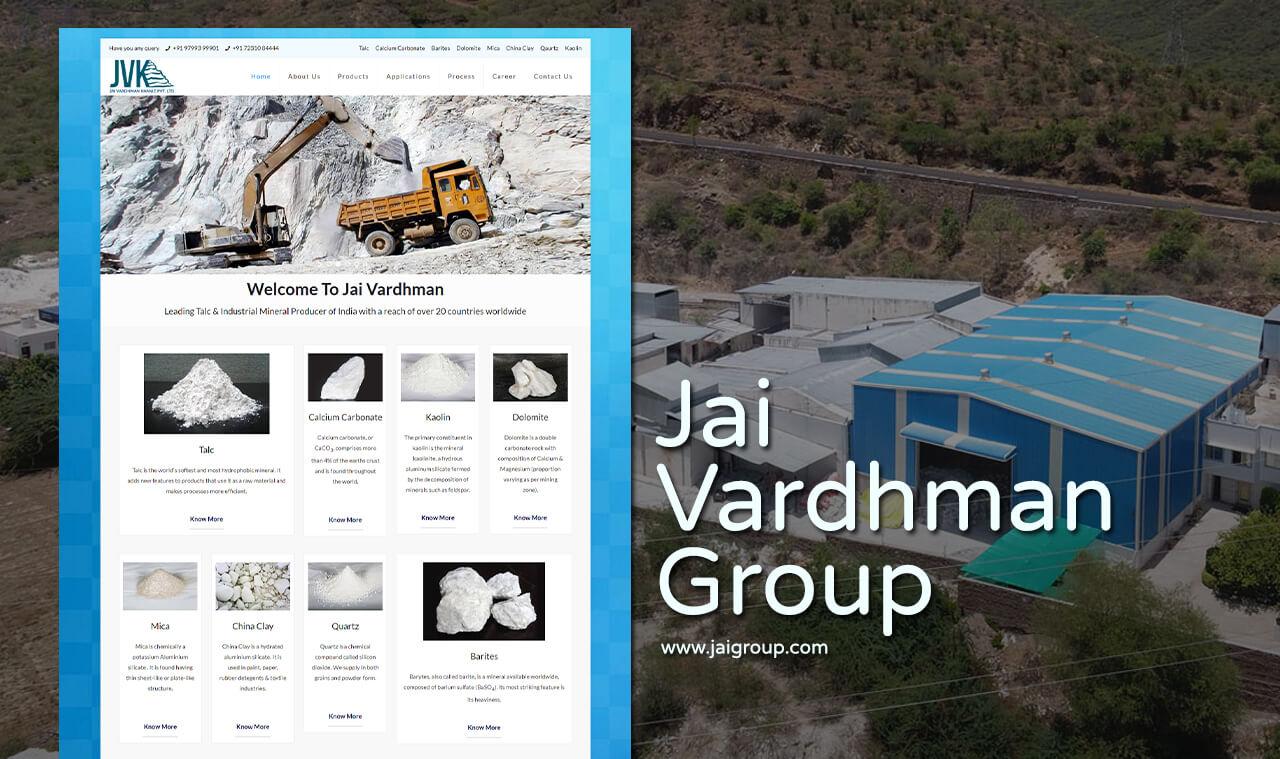Mineral-Manufacturer-Company-Website-Design