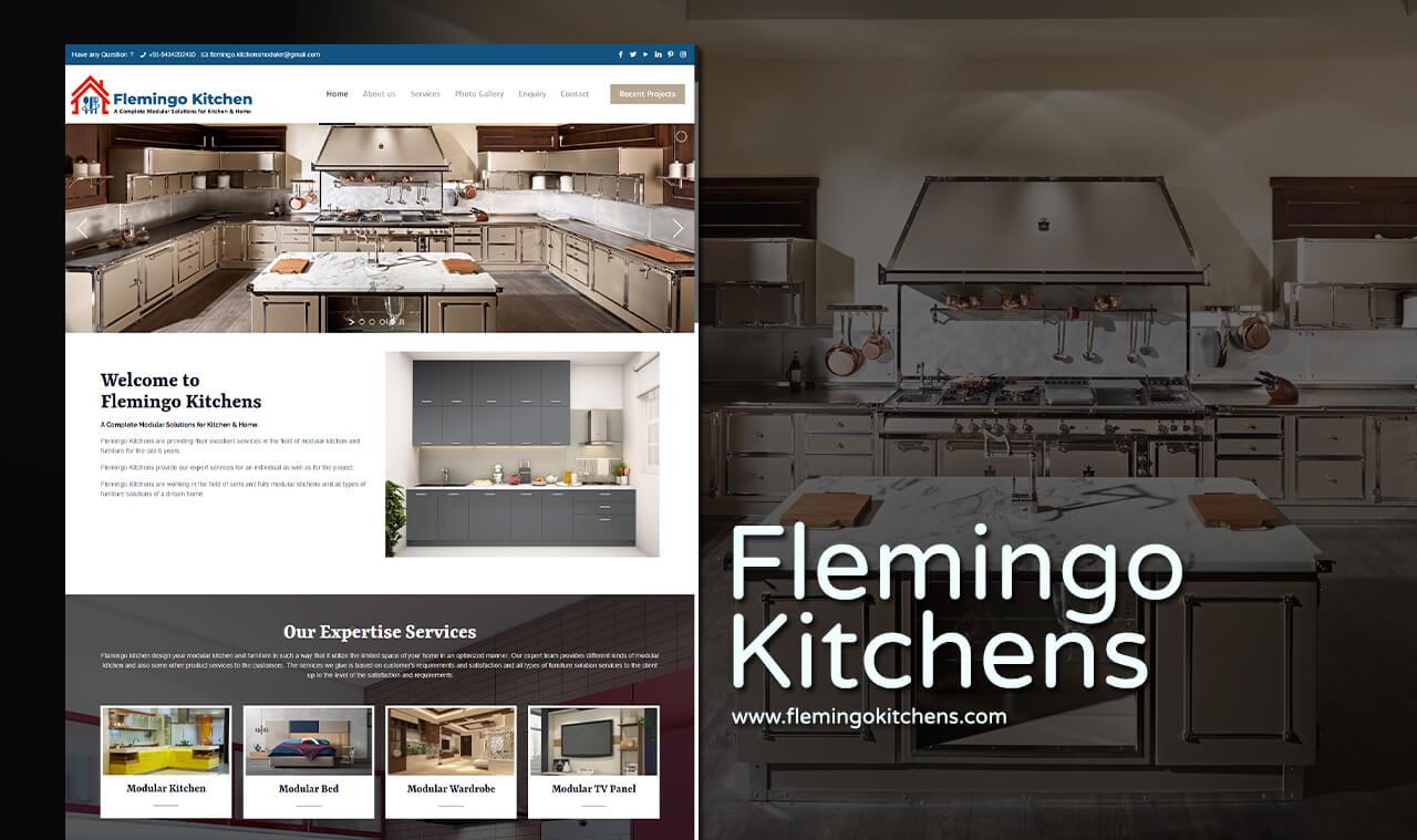 Modular Kitchen Website Designs