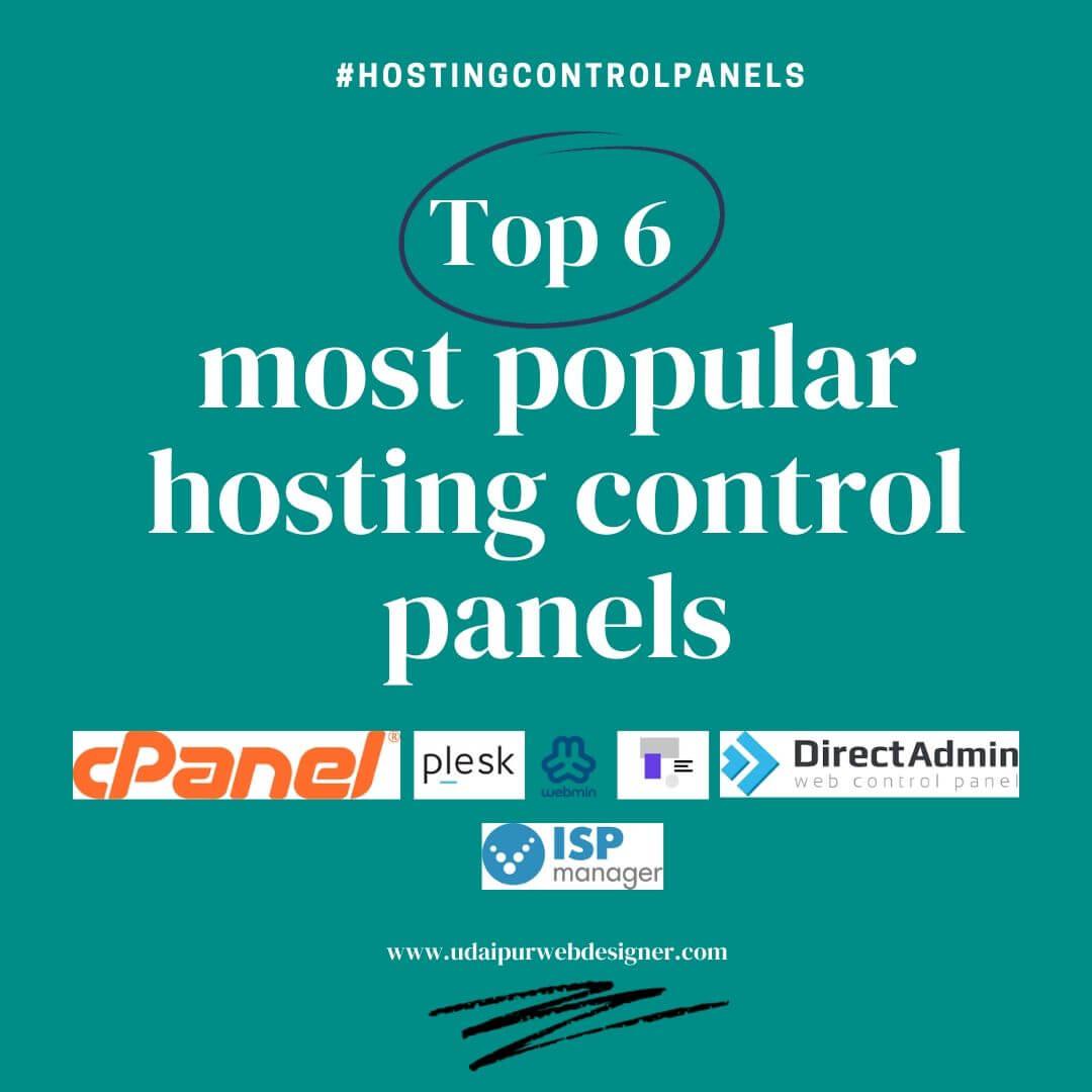 Most Popular hosting control panels