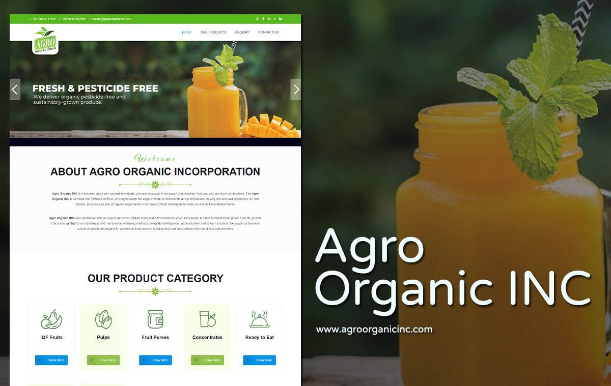 Organic-Products-Website-Designers