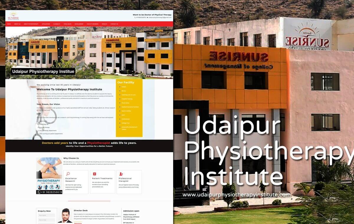 Physiotherapy Institute Website Designer