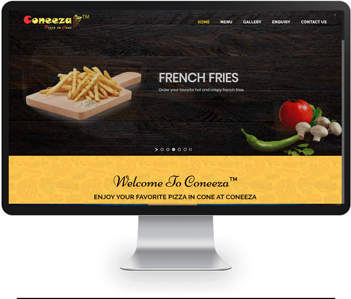 Pizza Corner Website Designer