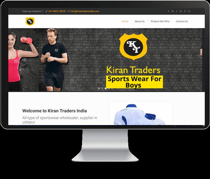 Sportswear Wholesaler Website Designer