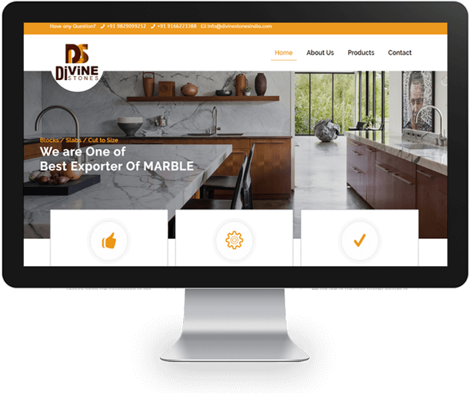 Stone Manufacture website designer